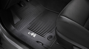 2017 -2018 IM Floor Liners, All-Weather, Set Of Four, Black - Toyota (PT206-12160-20)