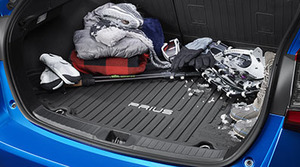2016 -2019 Prius Cargo Tray Floor Liner - Mid tech with Temporary Spare Tire - Toyota (PT908-47161)