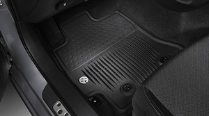 2017 -2019 - 86 Model -  Floor Mats, All-Weather, Set Of Four, Black - Toyota (PT908-18170-20)