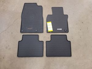 Floor Mats, All-Weather - Low Wall - Mazda (BCKA-V0-350A)