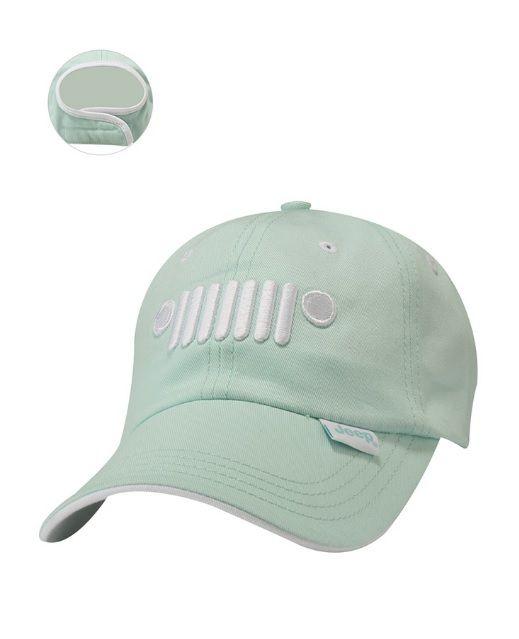 Jeep® Ladies Grille Hat- Light Blue - Mopar (12DEK)