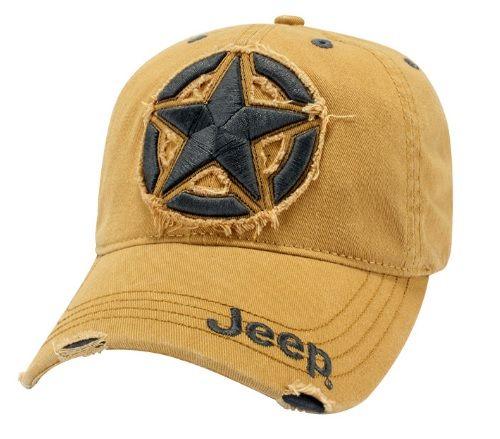 Distressed Jeep® 3D Star Cap - Mopar (114JF)