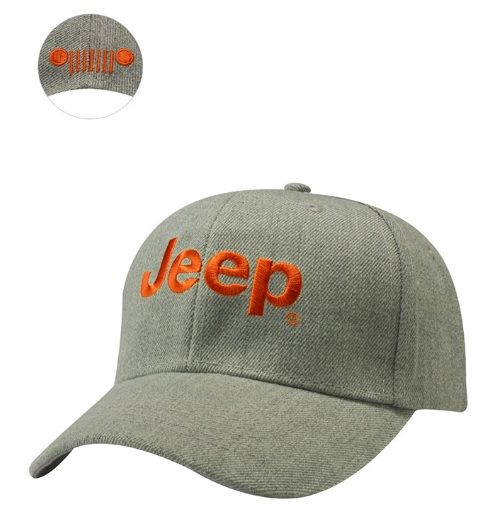 Jeep® Structured Heather Cap - Mopar (12E8T)