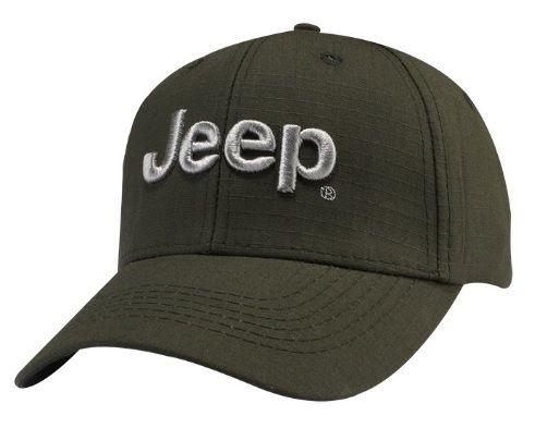 Jeep® 3D Logo Cap - 3D Embroidered - Mopar (126UL)
