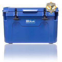 55 Quart Ice Vault Roto-Molded Cooler - Blue Coolers - Nissan (BC55QTBL)