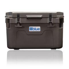 30 Quart Companion Roto-Molded Cooler - Blue Coolers - Nissan (BC30QTGY)