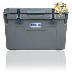 55 Quart Ice Vault Roto-Molded Cooler - Blue Coolers GRAY - Nissan (BC55QTGY)