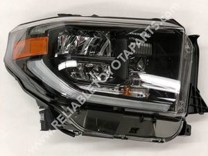 TRDPRO Headlamp Assembly Right-Hand (BLACK)