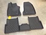 Jeep Renegade All-Weather Slush 3D Rubber Mat Set (Three Piece) - Mopar (82214194AC)