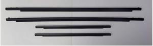 Toyota FJ Cruiser 2007 - 2014 Front & Rear Door Belt Mouldings Weatherstrip Genuine OEM OE