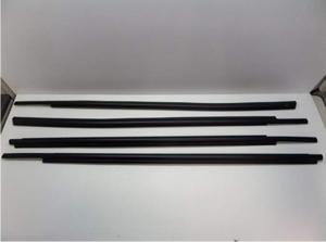 Toyota Tundra Crewmax 2007 - 2015 4pc Exterior Weatherstrip Belt Molding Set Genuine OE OEM