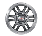 "TRD 17"" Off-Road Beadlock-Style Wheel"