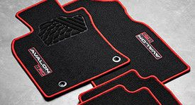TRD Carpet Floor Mats for 2020 Avalon - Toyota (PT206-07196-02)
