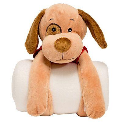 Toyota Woof the Dog Blanket Roll