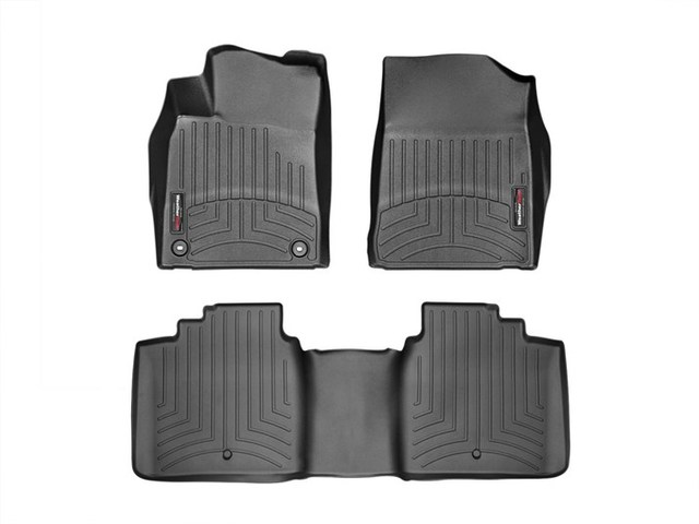 Avalon WeatherTech Floor Liners 2013-2017 Model Black Front & Rear Set