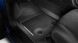 Toyota Tacoma Access Cab 3PC Black All-Weather Floor Liner 2016 Model