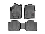 Tacoma WeatherTech Floor Liners 2005-2011 Model Black Front Set W/Passenger Retention
