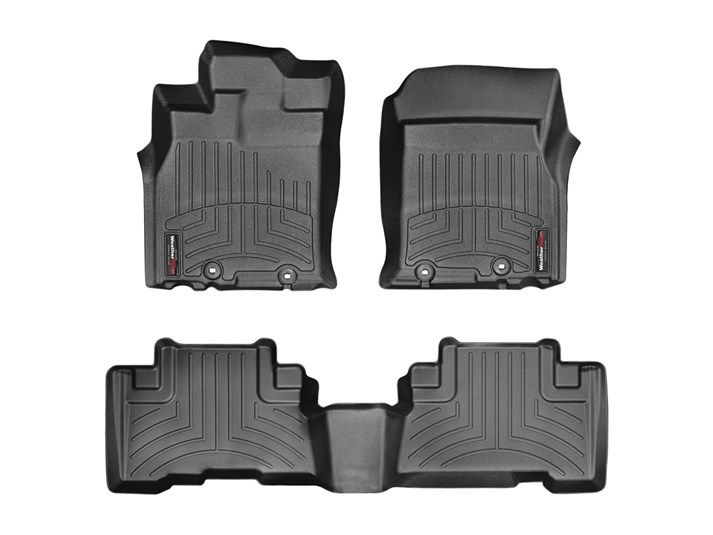 FJ Cruiser WeatherTech Floor Liners 2007-2010 Model Tan Front & Rear Set
