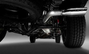 Trd Performance Exhaust System With Chrome - Toyota (ptr0335162)