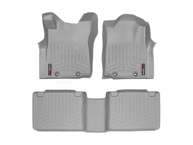 Tacoma WeatherTech Floor Liners 2012-2015 Model Access Cab Grey Front & Rear Set