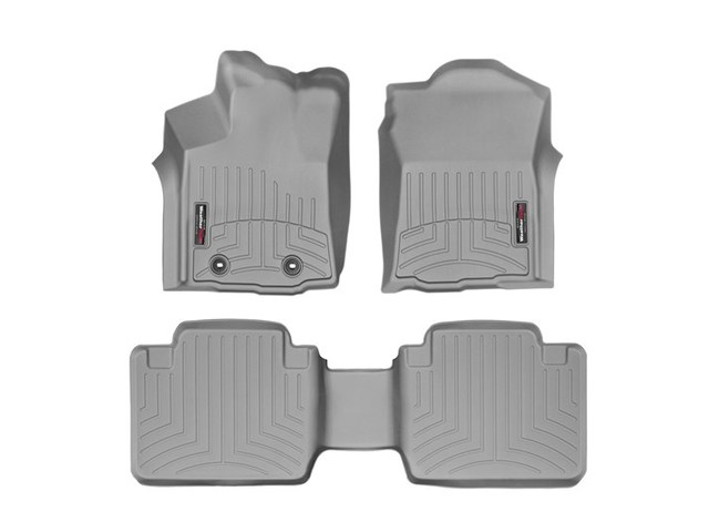 Tacoma WeatherTech Floor Liners 2016-2017 Model Access Cab Grey Front & Rear