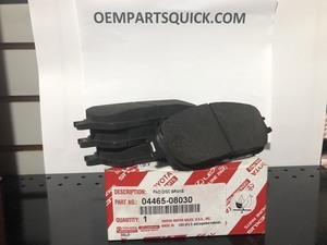 Brake Pads - Toyota (04465-08030)
