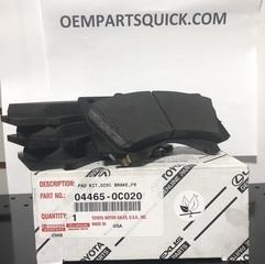 Brake Pads - Toyota (04465-0C020)