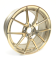 "M Performance Frozen Gold 19"" Style 763M Rim - 10Jx19 ET:40 - BMW (36118097288C)"