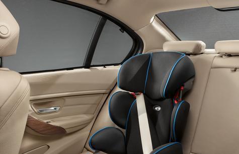 F30 3 Series Rear Window Sun Visor Kit (rear windshield only) - BMW  (51-46-2-293-368) 2481d350304
