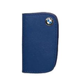 BMW Leather Key Case - Blue