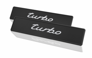 Porsche Classic Sticker Number Plate Set - Turbo - Porsche (PCG-701-930-10)