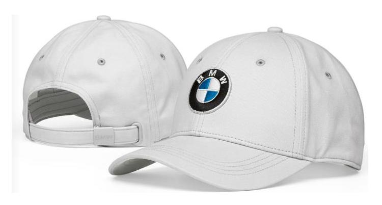 BMW Logo Cap - Grey - BMW (80-16-2-454-622)