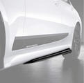 G20 3 Series M Performance Gloss Black Door Sill Attachment - Right - BMW (51-19-2-455-896)