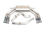 Dinan Free Flow Exhaust with Polished Tips for Audi S3 (8V) - Dinan (D660-0064)