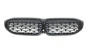 G20 3 Series M340iX Gloss Black Front Kidney Grille - BMW (51-13-9-448-474)