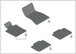 G32 6 Series GT Carpet Floor Mat Set