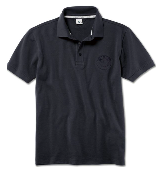 Men's BMW Polo Shirt - Dark Blue