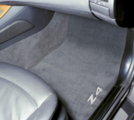 E85/86 Z4 Coupe & Roadster Embroidered Carpet Floor Mats