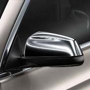 F10/F07 5 Series, F01/02/04 7 Series Chrome Mirror Covers - BMW (51-16-2-165-594)
