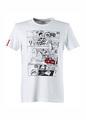 Audi Sport Comic Print T-Shirt