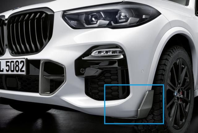 G05 X5 M Performance Carbon Fiber Front Winglet - Right - BMW (51-19-2-455-500)