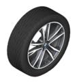 "F39 X2 19"" Style 715M Orbit Grey Winter Wheel/Tire - 8x19"