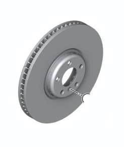 Rotor - Front - BMW (34-11-6-792-221)