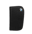 BMW Leather Key Case - Black