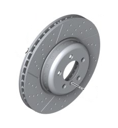 Rotor - Front Right - BMW (34-11-2-284-810)