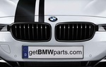 F34 3 Series GT M Performance Black Kidney Grille, Left