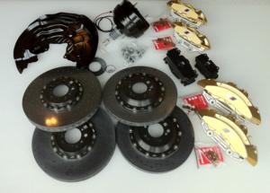 F80/82/83 M3 & M4 Carbon Ceramic Brake Retrofit Kit - BMW (34-11-2-358-378)