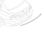 F80 M3 Primed Rear M Spoiler
