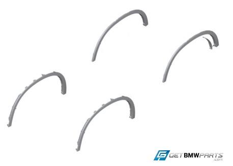 F15 X5 Wheel Arch Flare Retrofit Kit - BMW (PKF15X5WHEELFLARES)