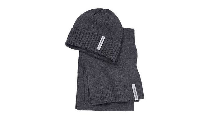 Hat and Scarf Set - Porsche (WAP-940-001-0K)